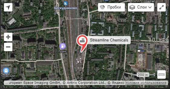 Схема проезда Streamline Chemicals